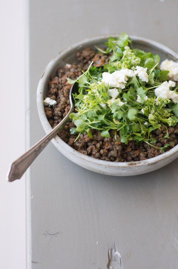 Deborah Madison's Lentils with Wine-Glazed Vegetables