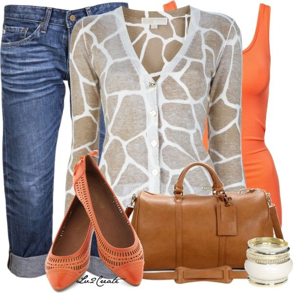 Casual Outfit: Giraffes Prints, Prints Cardigans, Color, Giraffe Print, Fashionista Trends, Animal Prints, Casual Outfits, The Cardigans, Giraffes Cardigans