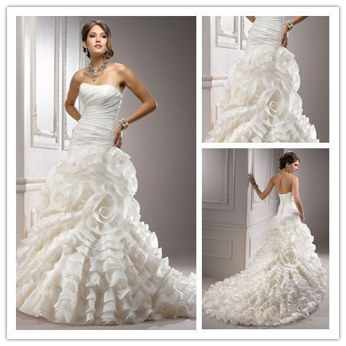 83 best wedding dress images on pinterest for Angel wings wedding dress