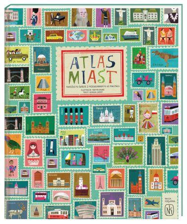 Przeżyj MIĘDZYNARODOWĄ PRZYGODĘ z tym ilustrowanym atlasem 30 MIAST z całego świata. Poznaj SŁYNNYCH LUDZI, ZNANE BUDYNKI, OŚRODKI KULTURY