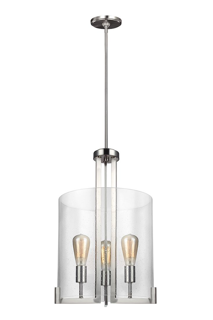 Dawes 3 Light Hall Foyer Chandelier By Sea Gull Lighting Will Gracefully Take Center Stage In Any Kitchen Or Dining Room