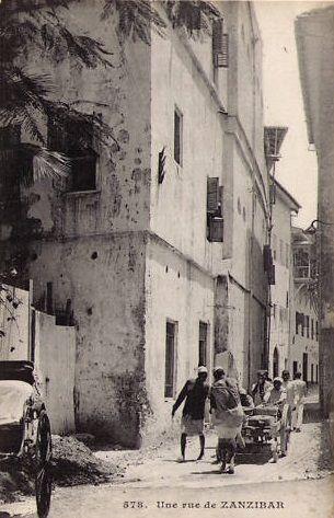 Zanzibar Street 1904