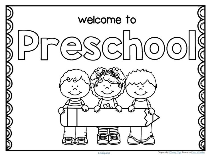 welcome sign coloring pages - photo#10