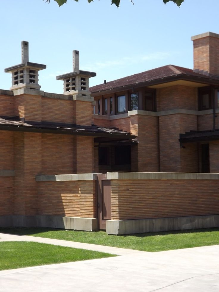 17 best images about fllw darwin d martin house on for Frank lloyd wright stile prateria