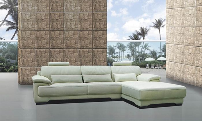 1599.00$  Watch now - http://ali913.worldwells.pw/go.php?t=1128865099 - Free Shipping Modern furniture living room sets 2013 new Design L Shaped Genuine Leather corner sofas Set with Chaise Longue 1599.00$