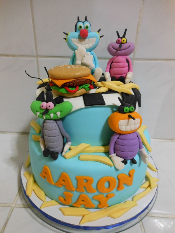 1000 Images About Oggy Cake On Pinterest Birthday Cakes