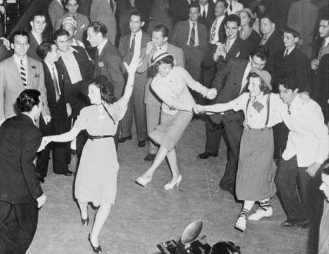 1940s dance party.