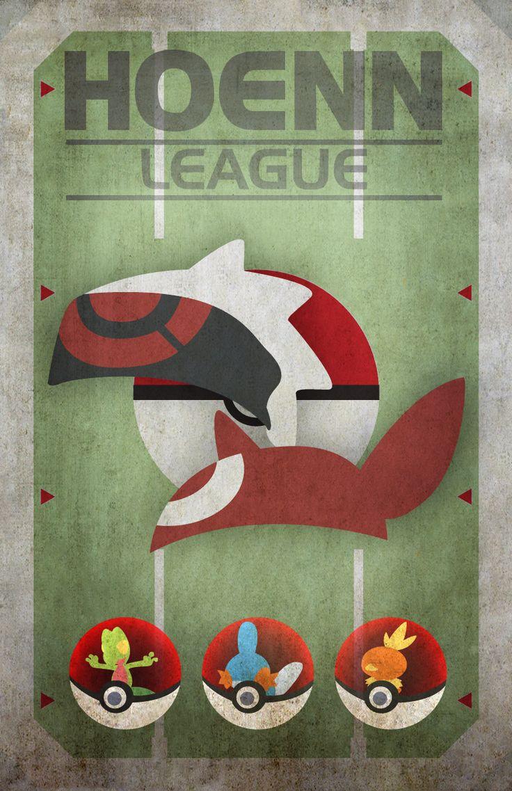 Hoenn League | G-Design: Character Illustrator and Designer
