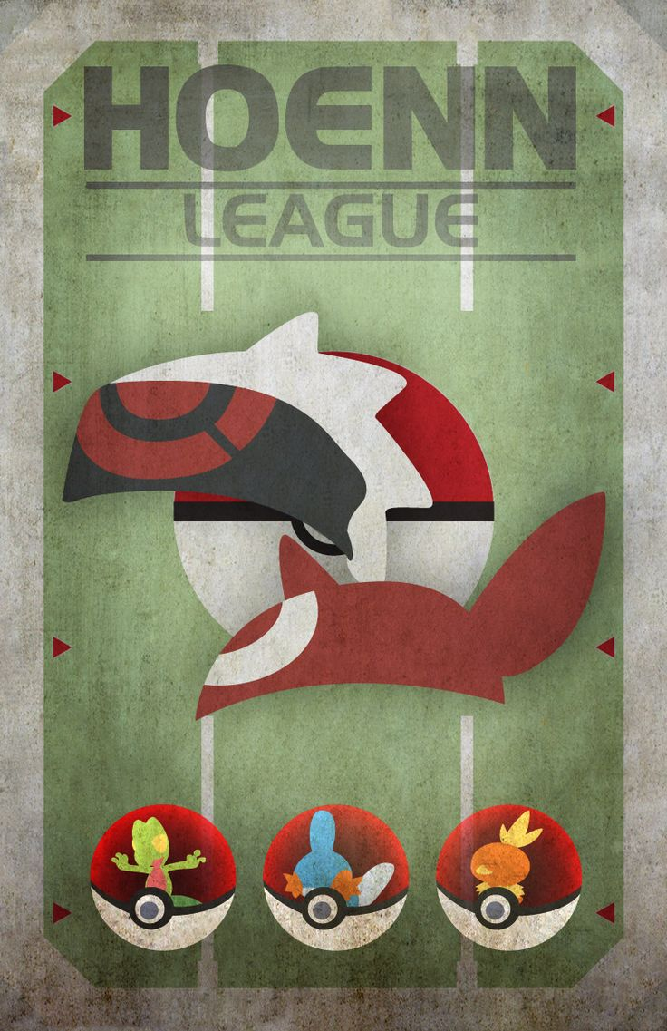 Hoenn League   G-Design: Character Illustrator and Designer