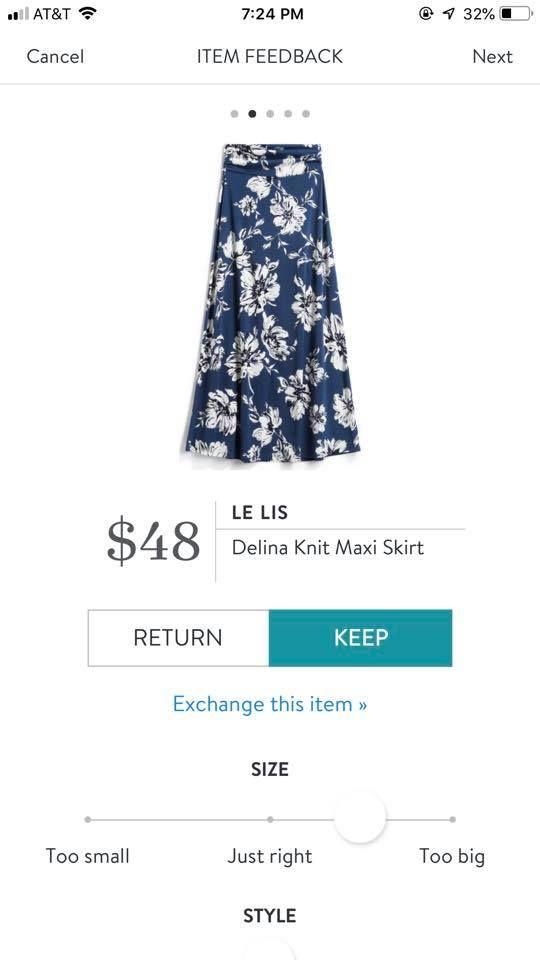 aafb3970f3 Le Lis Delina Knit Maxi Skirt