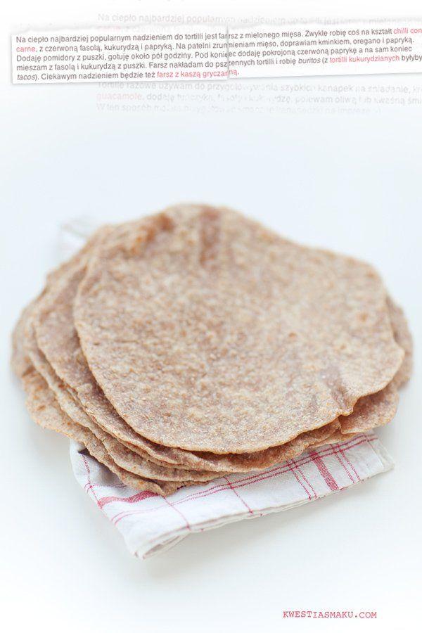Tortille z mąki razowej