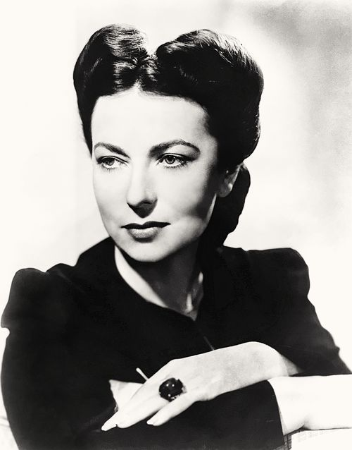 Image result for agnes moorehead 40s