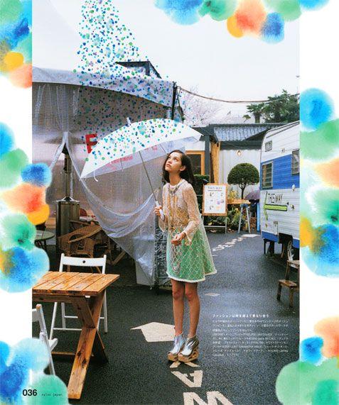 by Niky Roehreke in NYLON JAPAN
