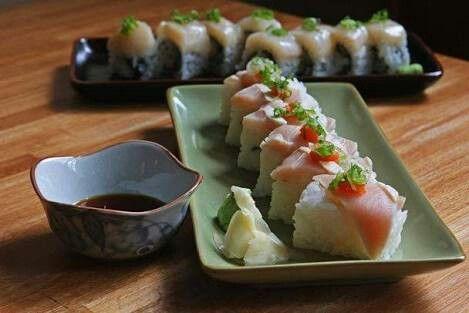 Nuestro nuevo y tan espererado sushi de salmon