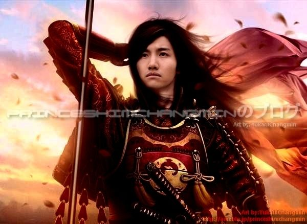 「YukariiChangminさん@YukariiChangmin: From my collection of fanarts NEW► Changmin warrior 」(ついっぷるフォト)