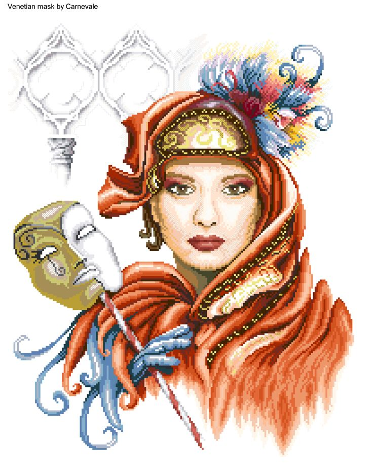 Venetian mask 1