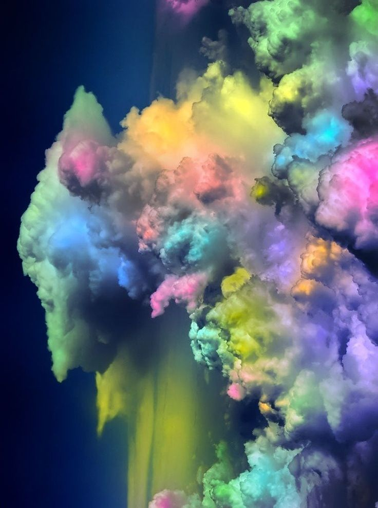 colorful clouds | artistic expressions | Pinterest | Cloud
