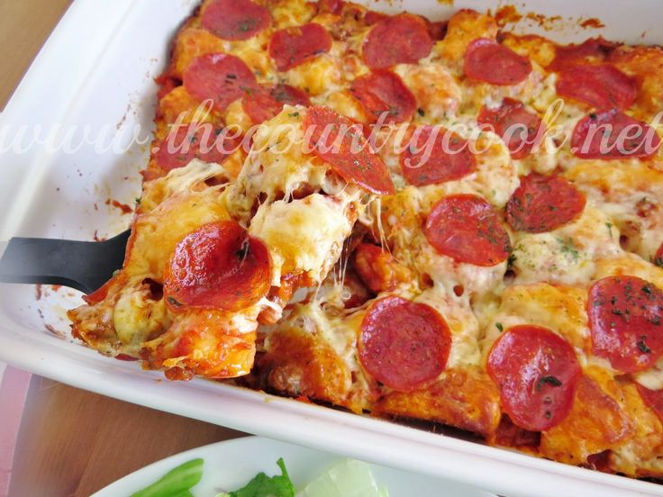 Bubble Up Pizza, biscuits, pizza, simple, easy, dinner, supper ...