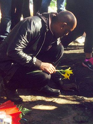 Tyrese Gibson Visits Paul Walker's Crash Site| Fast & Furious, Paul Walker, Tyrese, Tyrese Gibson