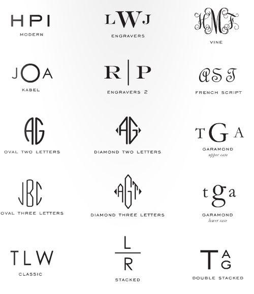 Creative Monograms Favorites Pinterest Initials And Classic