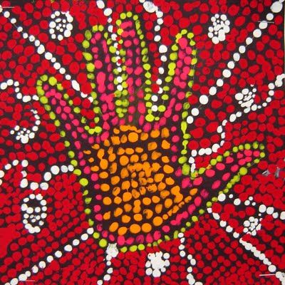 For the Love of Art: 3rd Grade Australian dreamtime painting and aboriginal art