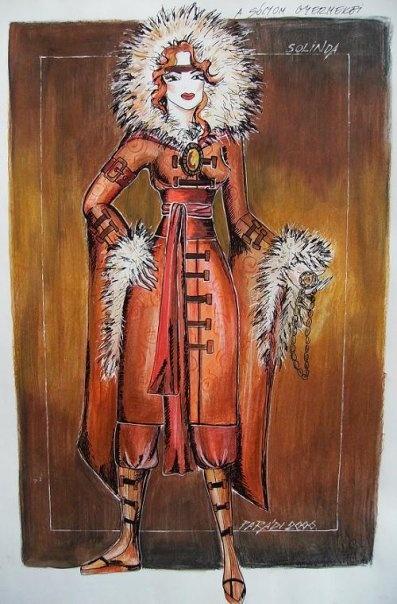 Sólyom országa - costume design by Parádi Gabriella