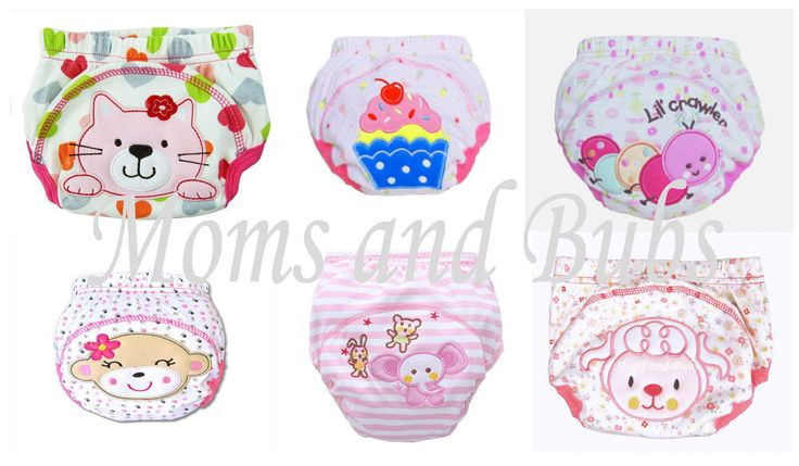 Girls Potty Toilet Training Pants Size 80 Pack of 6 New