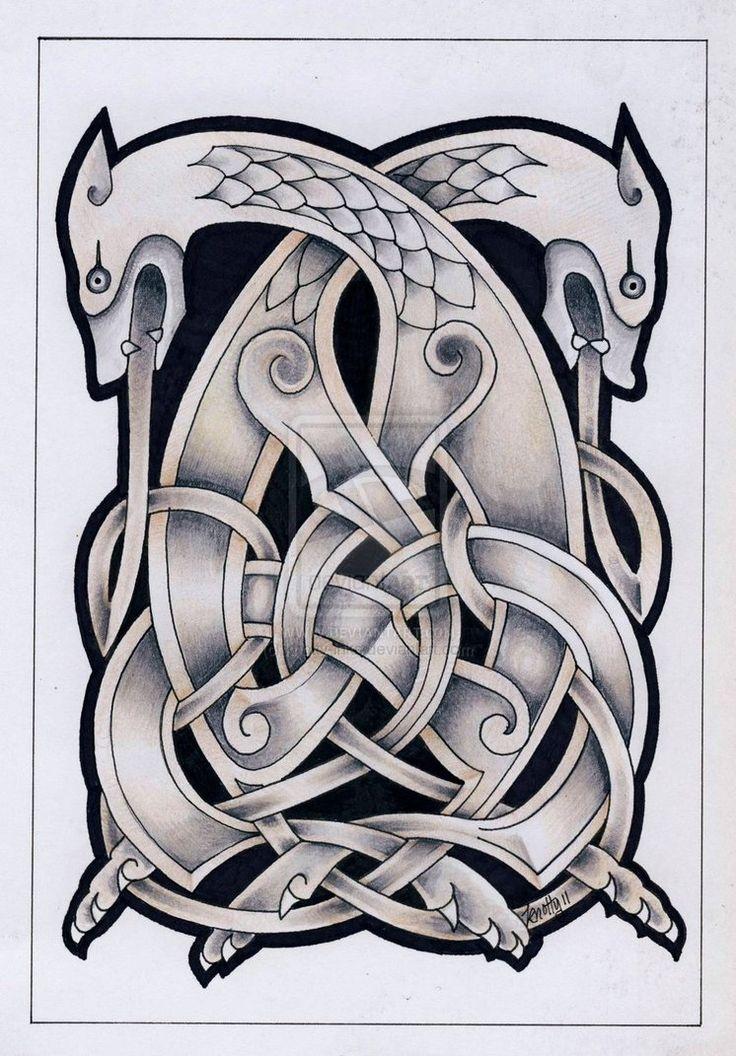 Celtic beast2 tattoo by Tattoo-Design on deviantART