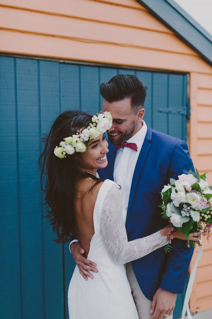 Beach wedding looks for bride   best Wedding images on Pinterest  Weddings Backdrops and