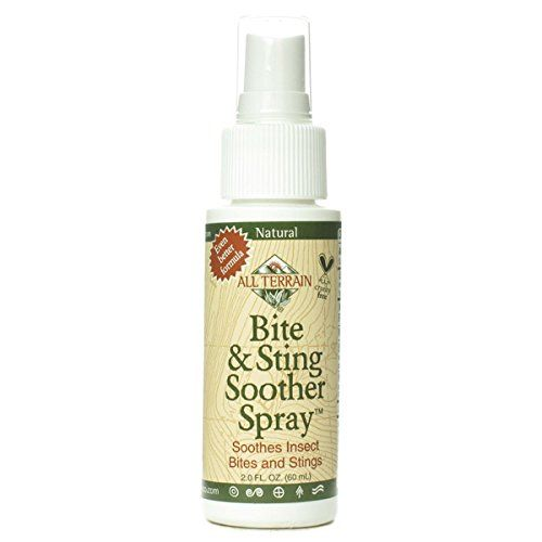 All Terrain Natural Bite and Sting Soother Spray (60ml, Deet Free, 100% Natural)