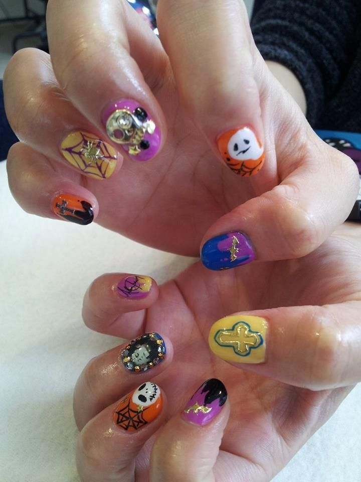 Halloween Nails by Momi