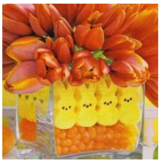 Cute Easter Party centerpiece