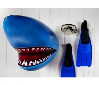 Inflatable Shark Head by Living Royal >> How unique!