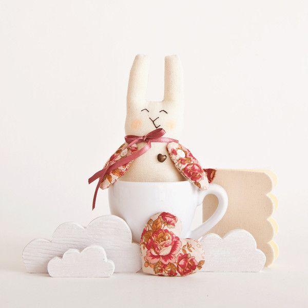 Stuffed+bunny,+Easter+Bunny,+Home+Decor+from+JuliaWine+by+DaWanda.com