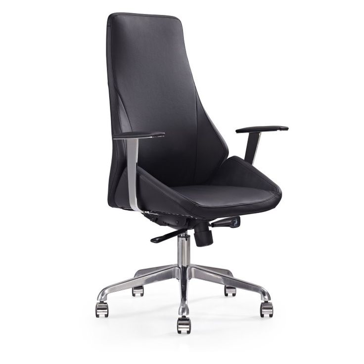 whiteline natasha executive highback office chair xc1173pblk