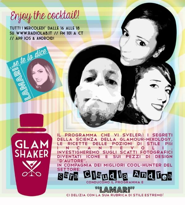 Radio Focus: intervista a Sara Curcio Raiti. Glam Shaker il programma più cool di Radio Lab.