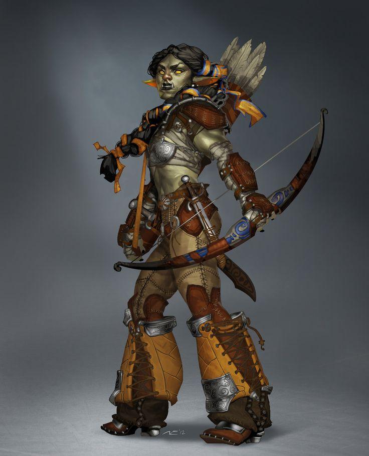 Orc Border Guard by Minosch.deviantart.com on @deviantART