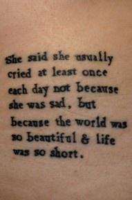 want this tattoo SOOO BAD.