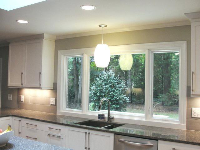 Large Kitchen Window Innovative Kitchen Window Above Sink Large