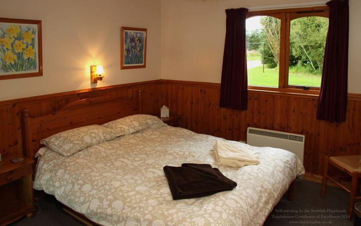Lodge double room.