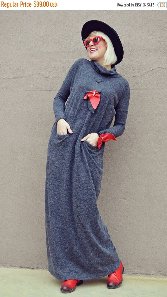 Just in: SALE 25% OFF Extravagant Gray Maxi Dress / Gray Long Maxi Dress / Angora Long Dress / Angora Loose Dress TDK222 https://www.etsy.com/listing/494353649/sale-25-off-extravagant-gray-maxi-dress?utm_campaign=crowdfire&utm_content=crowdfire&utm_medium=social&utm_source=pinterest