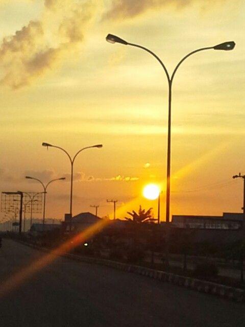 Sunset@Sangatta, Kutai Timur