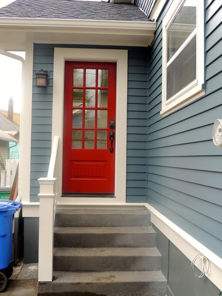 Exterior Of Mudroom Addition In Portland Oregon I Love The Porch: 44 Best Images About Side Entrance Door On Pinterest