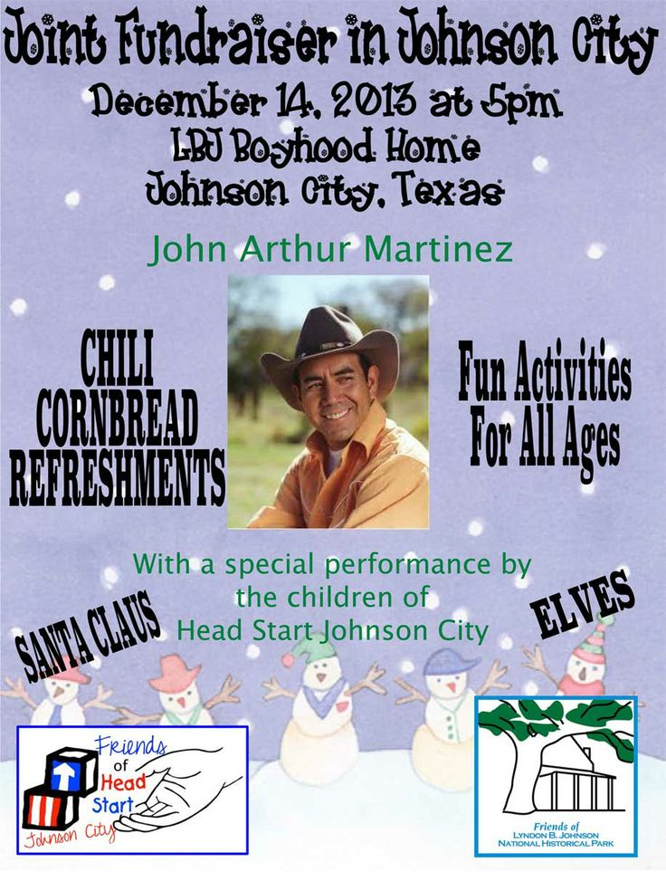 Join us for a special concert in conjunction with Christmas at the Boyhood Home of LBJ. John Arthur Martinez is sure to delight! #explorejc