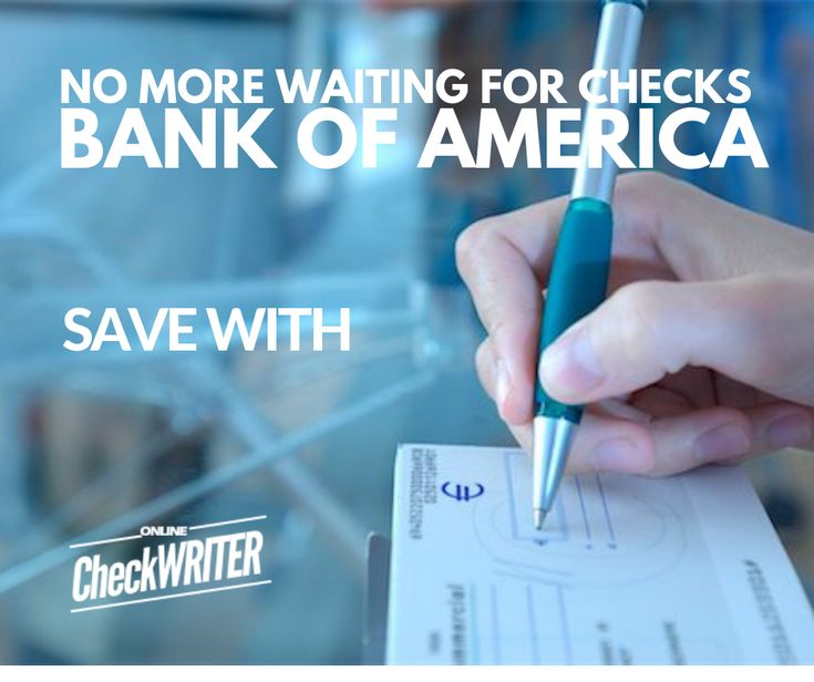 Bank Of America Checks Print Instantly Online On Demand On Any Printer Online Checks Printing Software Bank Of America