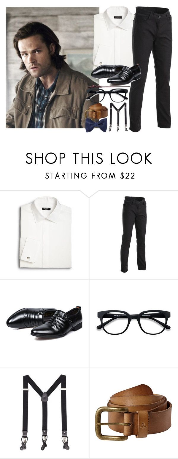 """""""Rolf Scamander••Next Generation"""" by cockles ❤ liked on Polyvore featuring Saks Fifth Avenue, MANGO MAN, prAna, Lanvin, men's fashion and menswear"""