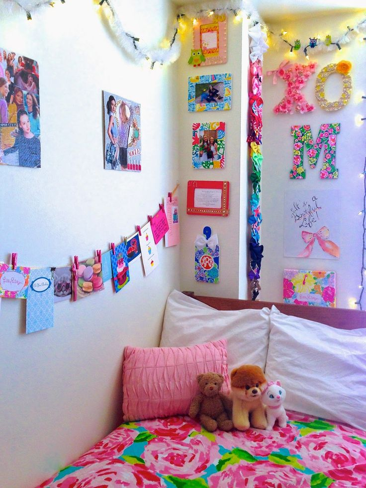 My Colorful Freshman Dorm