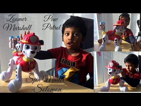 PAW PATROL - Zoomer Marshall Toy Review