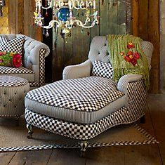 Seating: Decor Ideas, House Ideas, Design Ideas, Black And White, Decor Projects, Projects Ideas, Comfy Chairs, Nice Decor, House Plans