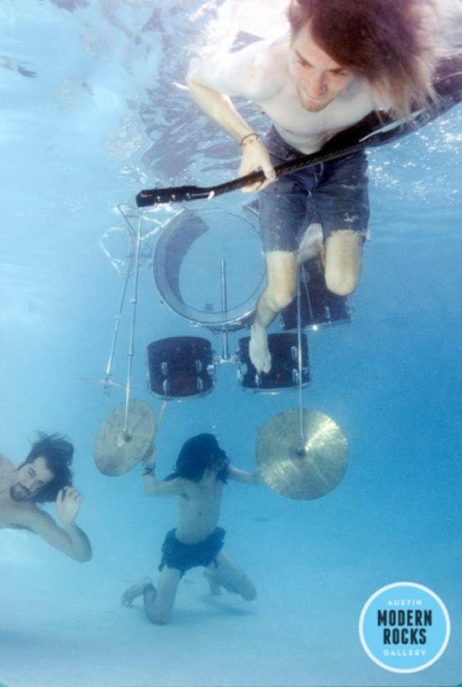 La sesión de fotos nunca antes vista del disco Nevermind de Nirvana   videografoto